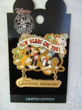 DISNEYLAND 2001 NEW YEAR'S EVE (FAB 4) DANGLE LIMITED EDITION PIN RETIRED - $25.00