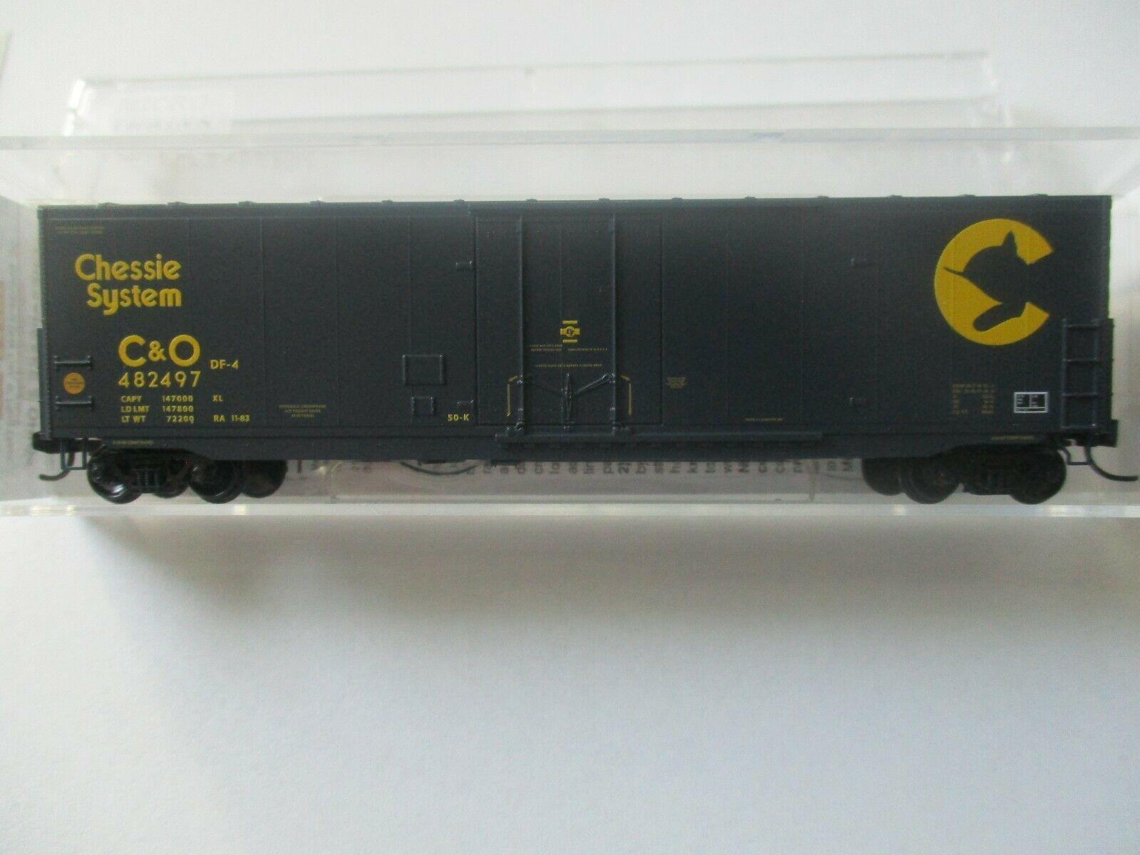 Micro-Trains # 18100190 Chesapeake & Ohio 50' Standard Box Car, N-Scale