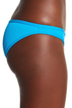 NEW L*Space Electric Blue Cosmo Full Cut Bikini Swimwear Bottom M Medium ELB image 3