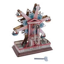 Retro Ferris Wheel Tin Clockwork Collectables Vintage Wind Up Toys Class... - $45.53