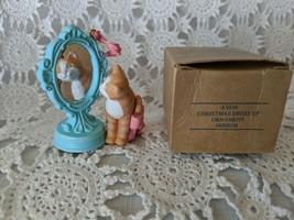 Avon Christmas Dress Up Ornament Mirror - $7.75