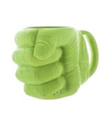 Hulk fist mug green ceramic tea coffee cup avengers gift marvel hero personality 11 thumbtall
