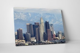 """Los Angeles Mountains Skyline Gallery Wrapped Canvas Print. 30""""x20"""" or 20""""x16"""" - $44.50+"""