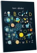 """Pingo World 0722Q9T12DA """"Space Alphabet Planets Children Kids"""" Gallery W... - $53.41"""