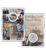 Whitehouse JOHN F KENNEDY 100th BIRTHDAY 2017 Kennedy Half Dollar w/ 4x6... - $16.84 CAD