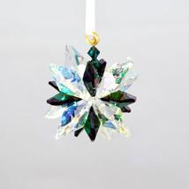 Aurora Borealis Crystal Snowflake Ornament image 4