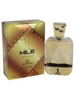 1 Mile Pour Homme by Jean Rish Eau De Toilette  3.4 oz, Men - $22.16
