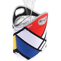 """Large Waterproof Neoprene Lunch Box 14"""" x 14"""" x 5.5"""" Reusable Lunch bags Large T - $18.67"""