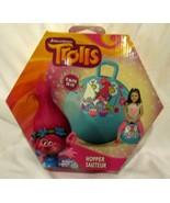 """Dreamworks Trolls Guy Diamond Poppy Turquoise 15"""" Inflatable Hopper Ball... - $39.59"""