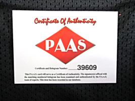 JACK LAMBERT / HALL OF FAME / AUTOGRAPHED PITTSBURGH STEELERS CUSTOM JERSEY COA image 7