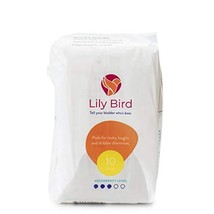 Lily Bird Incontinence Pads for Women, 30 Count 3 Packs of 10 Moderate