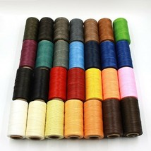 260m 150D Leather Sewing Wax Thread Cord Craft Sewing Leather Special Fl... - $13.89