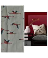 "Set of 2 IKEA Majbritt Cushion Pillow Sham Covers 20"" x 20"" Tan Birds Tr... - $25.83"