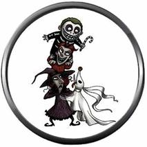 Zero Lock Shock  Barrel Nightmare Before Christmas  18MM-20MM Snap Jewel... - $5.95