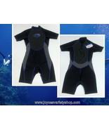 O'Rageous Short Wetsuit Men's Sz M Black w/Blue Trim Water Sports Diving - $29.99
