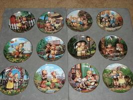 Danbury Mint Hummel Little Companion Collector Plates Complete Set of 12 - $39.00