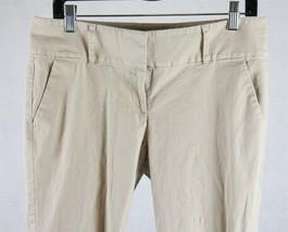Ann Taylor Signature Womens Beige Capri Pants Size 10, Measures 32 x 23 - $18.80