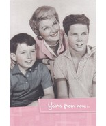 "Greeting Card Birthday MOM Leave It to Beaver ""Years from now..."" - $4.99"