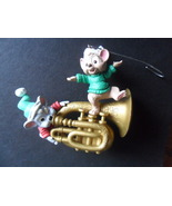 1996 Hallmark a Little Song and Dance Mice/Mouse Ornament  **Used - $9.90