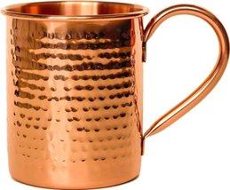 Rastogi Handicrafts Pure copper mule mug Hand hammered - $13.86