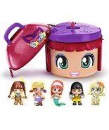 Pinypon Little Dress Up Party 5 Figures with Container Fancy Edition Rodi - $235.67