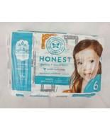 Honest Diapers 18ct Size 6 Gentle + Absorbent Eco-Friendly Hypoallergenic - $7.70