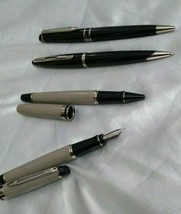4 pc waterman pens Fountain pen 1pc, roller pen 1pc, ball pen 2 pc - $147.90
