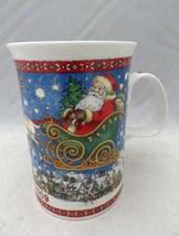 """Dunoon Stoneware - Christmas 2009 - fine china mug - 4"""" tall - England -... - $6.93"""