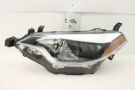 Used Oem Head Light Headlight Lamp Headlamp Toyota Corolla 14-16 Lh Chip Mount - $84.15