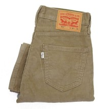 NEW LEVI'S 511 MEN'S PREMIUM SLIM FIT CORDUROY JEANS PANTS KHAKI 511-2035