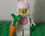 Lego Easter Bunny Suit w/ Carrot Mascot Guy Mini figure Series 7 Loose Minifig