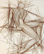 """Guillaume Azoulay """"Etude"""" 1979 - S/N Etching - ... - $900.00"""