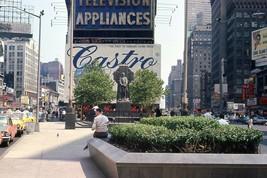 Time Square 1964 Street Scene Original 35mm Slide New York City - $29.69