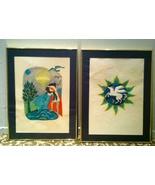 JUDITH BLEDSOE Zodiac set 2 framed LITHOGRAPHS signed numbered Aquarius ... - $288.00
