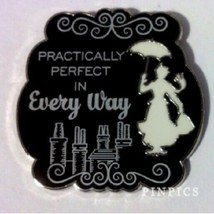 Disney Mary Poppins Holding Umbrella Practically Perfect in Every Way pin - $11.11