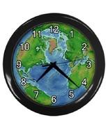 Earth Decorative Wall Clock (Black) Gift model 18044355 - $19.99