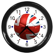 England Footbal Flag Decorative Wall Clock (Black) Gift model 38367408 - $19.99