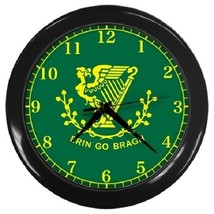 Erin Go Bragh Decorative Wall Clock (Black) Gift model 14566167 - $19.99