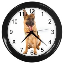 German Shepherd Decorative Wall Clock (Black) Gift model 14560672 - $19.99