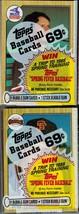 (4) MLB 1987 Topps Cello Baseball Packs Clark Rookie  GS1047 - $3.95