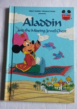 Walt Disney Presents Aladdin and the Missing Jewel Chest Paperback Book ... - $8.59