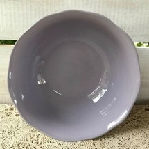 HTF Retired Mikasa Spring Hyacinth Serving Bowl Larry Laslo Lilac Made in Japan - $34.28