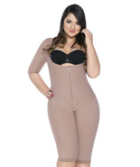 Plus Size Post-Surgical Zipper Firm Powernet Compression Garment to Size 4X - $139.00