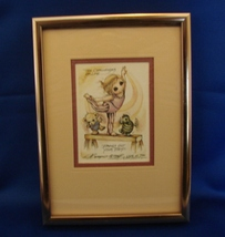 "Jody Bergsma Print Ltd Ed Signed and Numbered Ballerina ""The Challenges ... - $12.99"