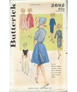"""BUTTERICK 2892 SEWING PATTERN UNCUT 11-1/2"""" Fashion Doll CLOTHES - $25.99"""
