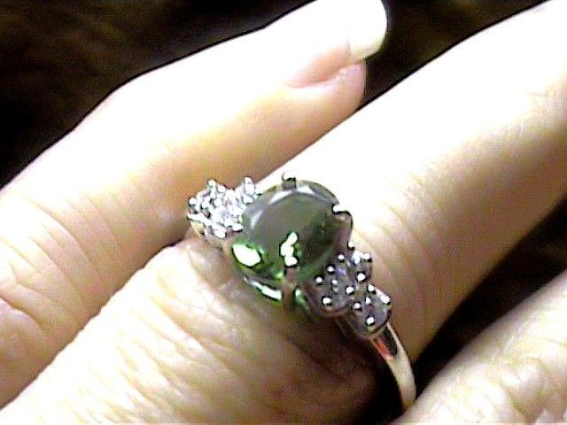 RING 925 STERLING SILVER RING W// TURQUOISE GEMSTONES SZ 5,6,7,8,9 WOW!!