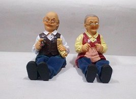 Handcrafted collectible dolls set of 2 for gift & showpiece - $39.60
