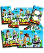 TOY STORY WOODY BUZZ LIGHTYEAR LIGHT SWITCH WALL PLATE OUTLET KIDS BEDRO... - $8.99+