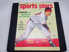 Sports Stars Magazine August 1952 Mike Garcia Cover - $12.38