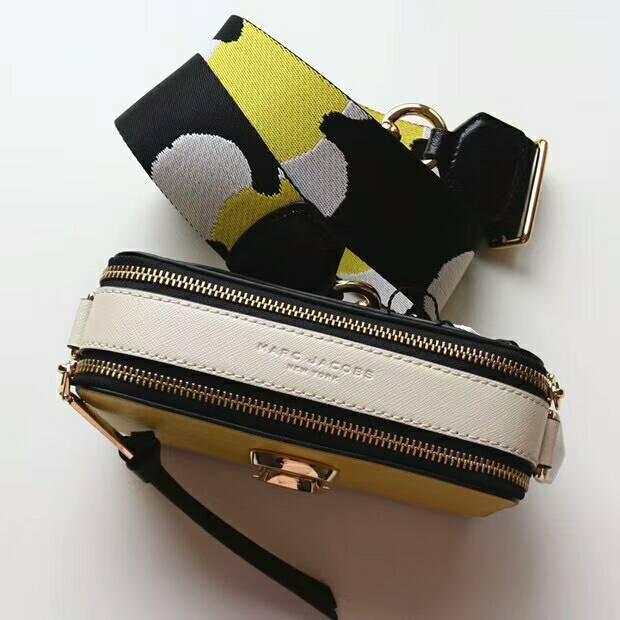 4c4f89d93cbc Used Marc Jacobs Snapshot Small Camera Bag Crossbody Bag Sunshine